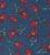 4070-P.BLUE FLOWER